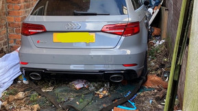 Police have recovered a stolen Audi RS3 in Sefton and also arrested three adults for other offences