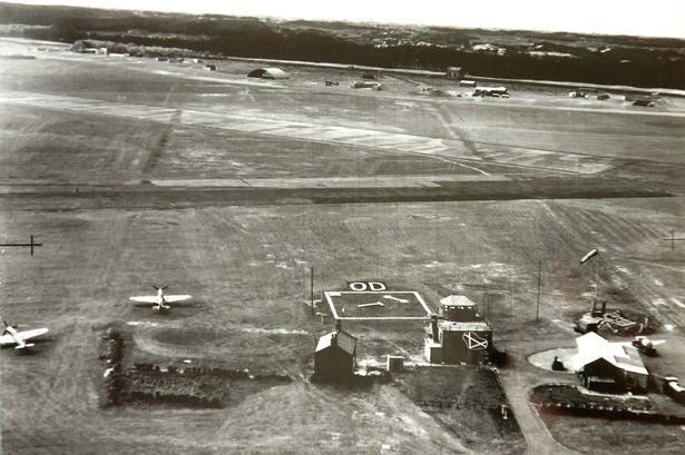 Picture by Andrew Teebay. Aerial shot of RAF Woodvale dated 1943.jpg