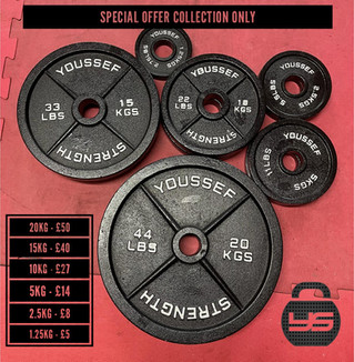 Olympic Weights for sale from USC Gym