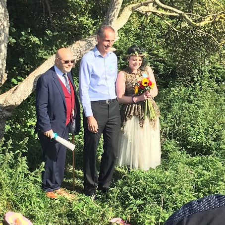 The fight goes on says MP at Rimrose Valley Park tree wedding