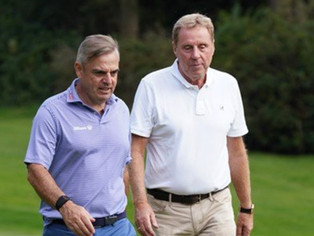 Harry Redknapp, Vernon Kay, Brian McFadden just a few names at Formby today for the Legends Tour