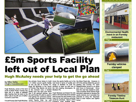 Formby Bubble Newspaper - 28 pages with over 50 Formby stories
