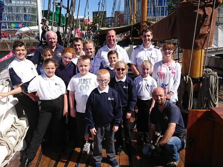 Formby Maritime Cadets have been busy in the school holidays...