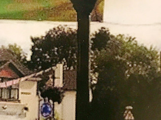 A new Memorial Clock on the Formby Village roundabout