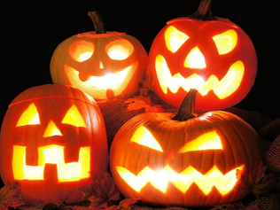 Why do children trick-or-treat and what's with the scary costumes?
