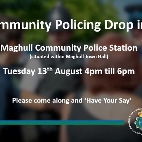 Community Police Drop In comes to Maghull on a Tuesday