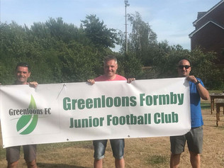 Greenloons Formby JFC have signed the lease to make Clarence Sports Field their new home!
