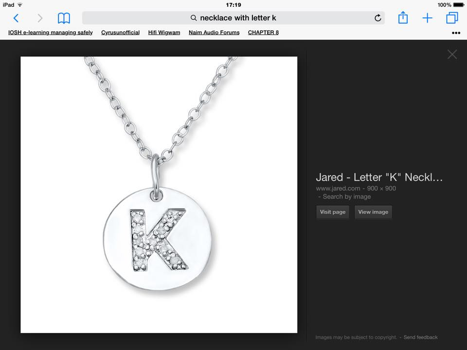 Jared Letter K necklace lost in Formby.jpg