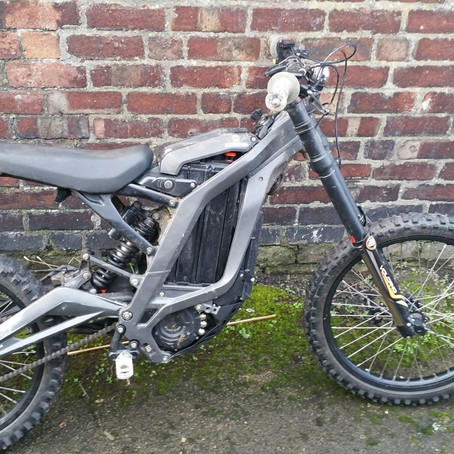 Police trying to find out who this bike belongs to after it was found at an address in Seaforth