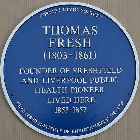 Formby Civic Society and the first Blue Plaque
