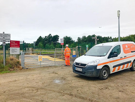 Fishermans Path Level Crossing is now open with Network Rail staff stationed on site until further n