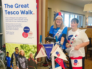 Tesco Formby are holding a charity weekend fundraiser from today