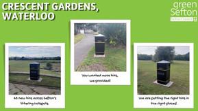 New bins introduced across Sefton at eleven littering hotspots