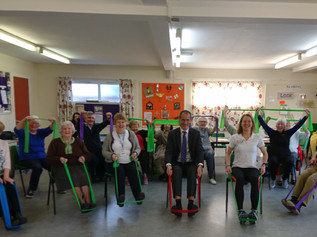 MP takes the chair in support of older people in Formby