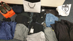 Male arrested in Lydiate with large quantity of drugs and designer clothing seized