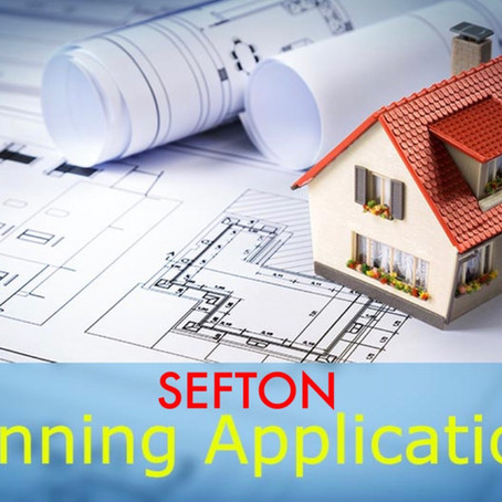 Sefton Council Planning applications for week commencing 22nd March 2021