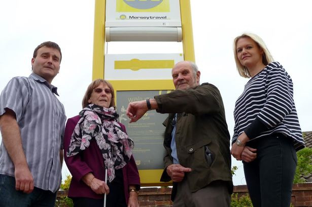 Formby councillors Tim Hale and Nina Killen with Eileen and Phil Morgan.jpg