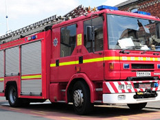 Firefighters Called To Electricity Cable That Had Fallen in North Moss Lane.....