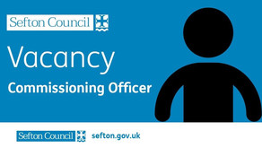 Job vacancy with Sefton Council for a Commissioning Officer