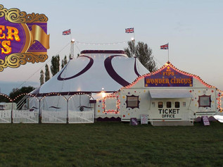 Only two days left to go the Formby  Circus -  Book your tickets now!