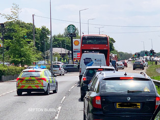 RTC on Formby bypass causes huge traffic delays