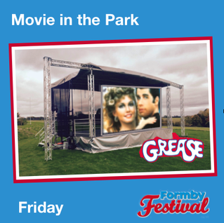 The 7th Formby Festival starts this Friday with GREASE CINEMA in the Park