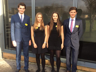 sixth form Economics students have won the regional heat of the Bank of England's prestigious Ta