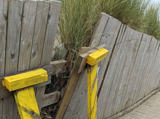 The Boardwalk at Lifeboat Road will be closed from Monday 6th September