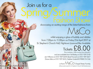 M&Co Formby Spring/Summer Fashion Show on Friday 21st April