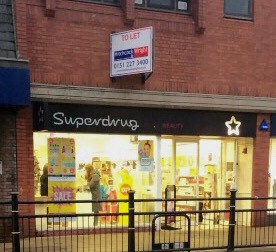 Superdrug in Formby Village is closing down in February