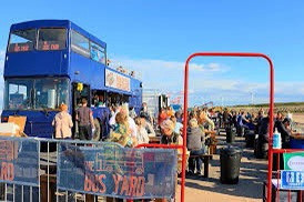 The Bus Yard is back due to popular demand but is only here for 28 days so make the most of it!