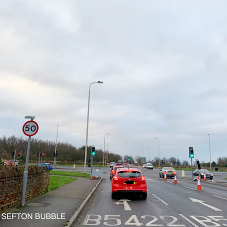 MP Bill Esterson responds to Sefton Bubble regarding the traffic chaos at Brooms Cross last week