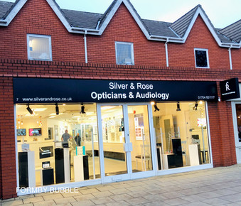 A brand 'New Look' and location for Formby Optician & Audiology