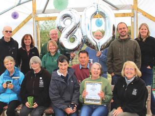 Jean still volunteers at 80!