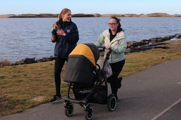 Active buggies trainer Jessica Meg-Caddick with mum Alexia Tetchner.jpg
