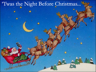 Twas the Night before Christmas by Denise Jones