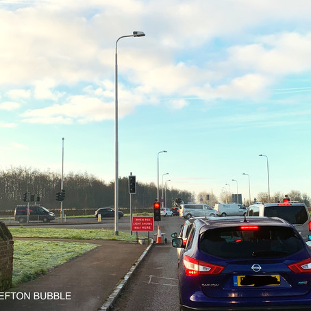 Who is accountable for the absolute mess that is Brooms Cross and Edge Lane?