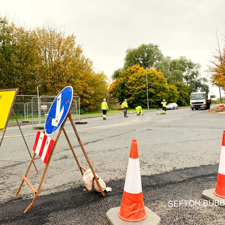 Edge Lane in Netherton is closed for vital improvements until 20th December