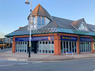 Old Prezzo shop taken over by Ian Cockbain Wealth Management and Berkeley Shaw Estate Agents