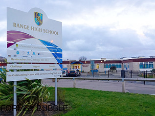 Range High School requires Improvement according to this years Ofsted report