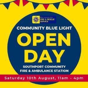 Merseyside Fire & Rescue Blue Light open day tomorrow