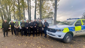 Police in Sefton tackle Wildlife Crime Offences with the Environment Agency and Lancashire Taskforce