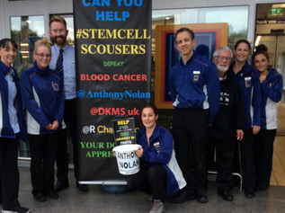 STEMCELLSCOUSERS RAISE OVER  £25,000 for  Blood  Cancer  Charities