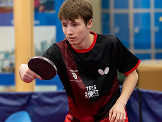 Range High Pupil is to join the Table Tennis England Junior Training Squad 2021