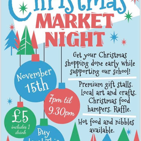 Christmas Market Night at Valewood Primary in Crosby