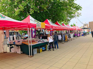Formby Weekly Market is back on Friday 3rd May on Chapel Lane
