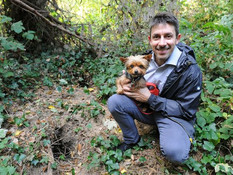 Tiny dog survived for two weeks stuck down a rabbit hole in Formby