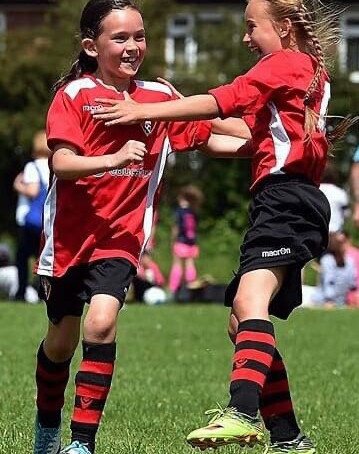 GIRLS ONLY Football sessions start next Wednesday 26th May