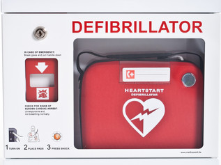 Well done to Our Lady's raising enough funds to buy a defibrillator