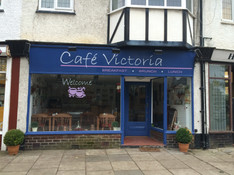 The cafe in Victoria Road gets a new name........Cafe Victoria